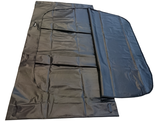 disaster body bag black - for heavy weight persons